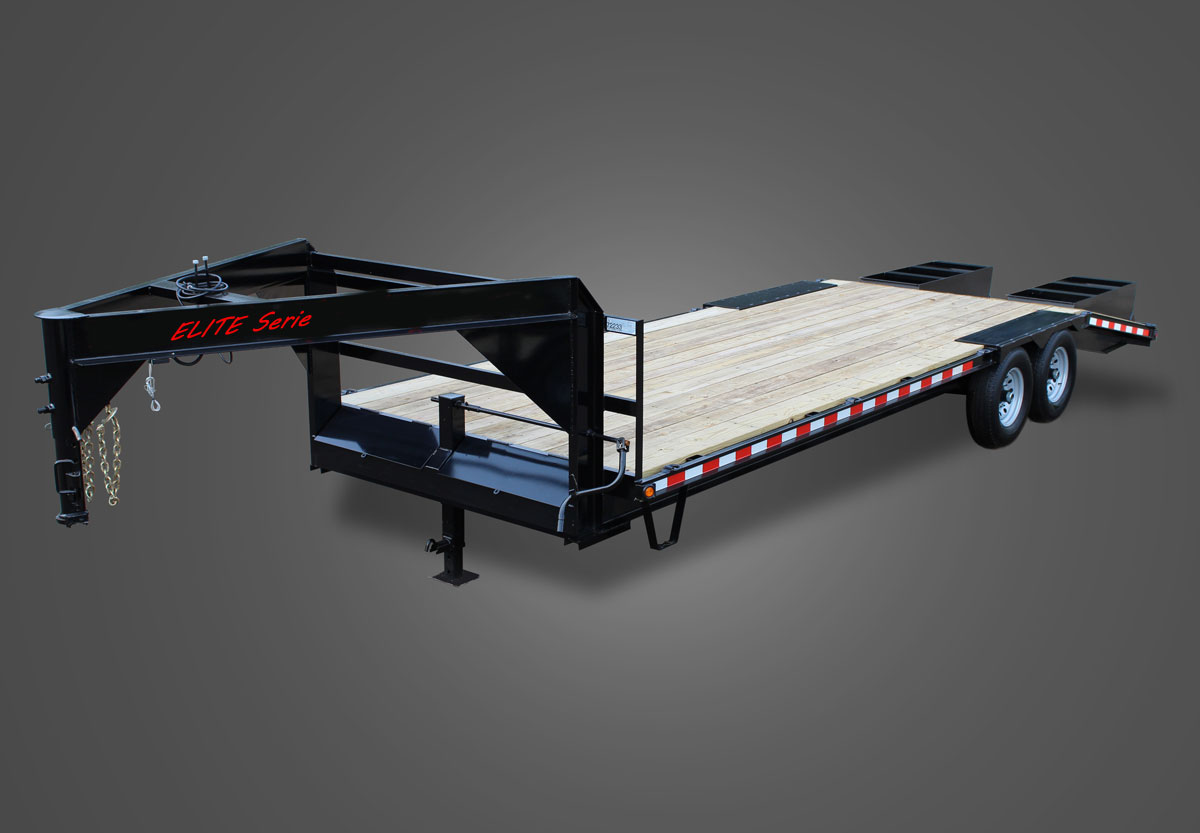 Gooseneck Flatbed Trailer HD Elite Serie